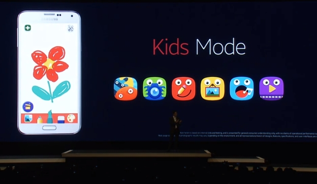 galaxy s5 kids mode