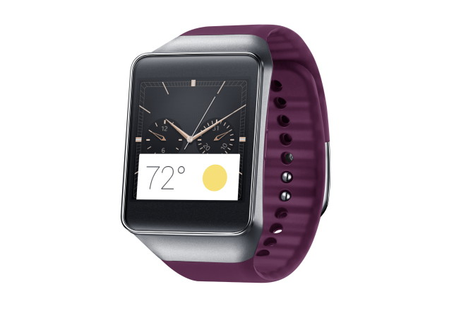 Samsung Gear Live Wine Red