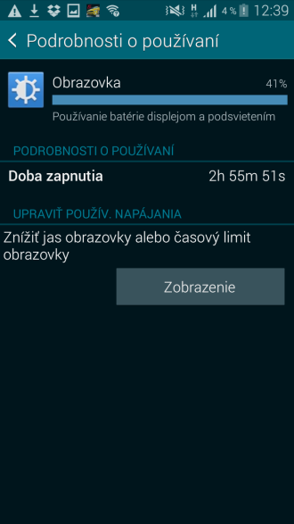 Samsung Galaxy K zoom normal battery life