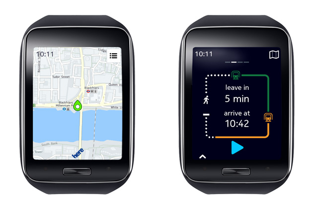 HERE Maps for Samsung Gear S