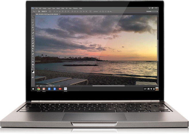 Adobe Creative Cloud Chromebook Pixel