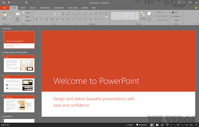 Office 16 PowerPoint