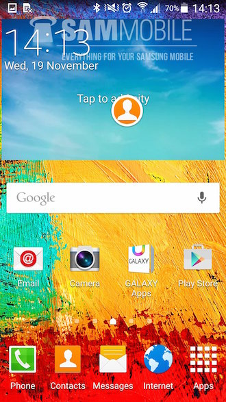 Galaxy Note 3 Lollipop