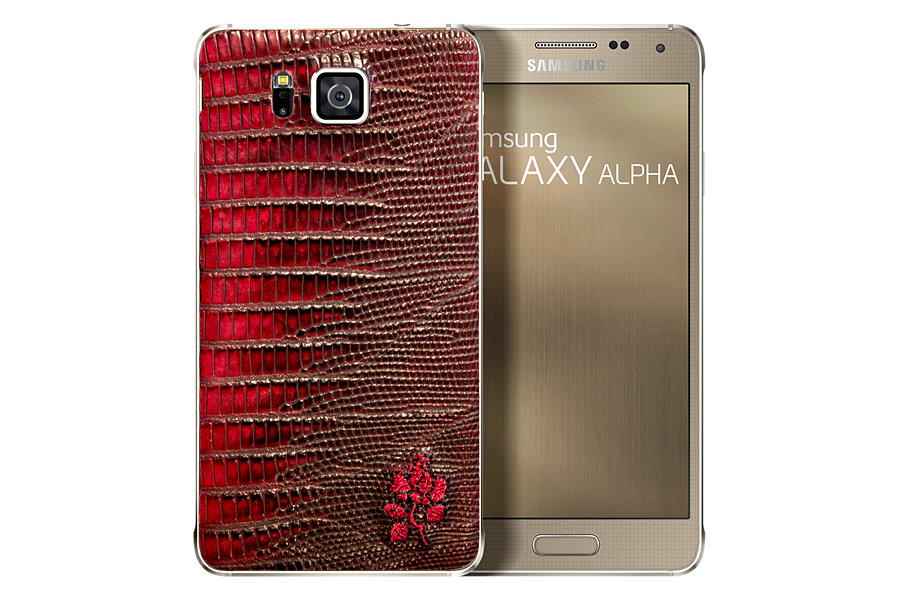 Samsung Galaxy Alpha Limited Free Lance Bordeaux Edition