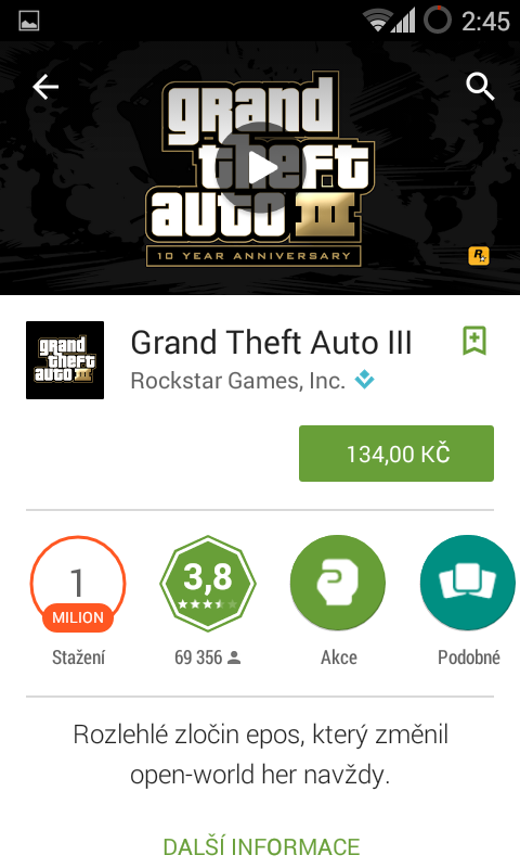 Google Play hry