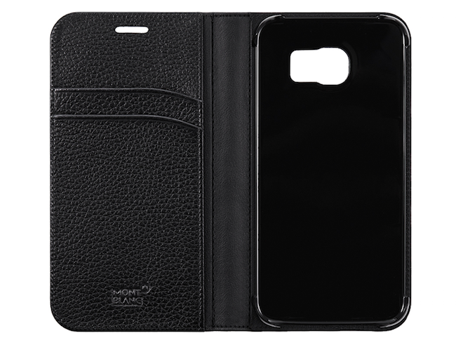 MontBlanc Soft Grain Flip Case Galaxy S6