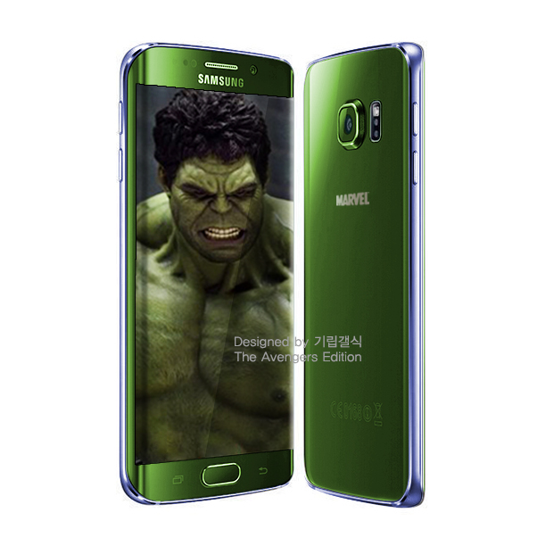 Galaxy S6 Avengers obaly