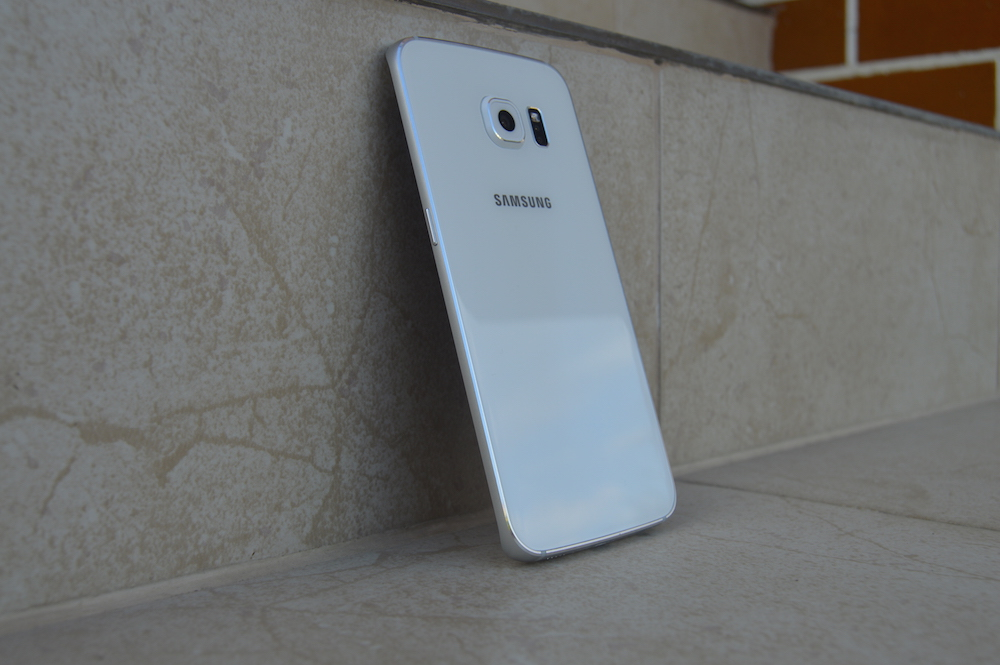 Galaxy S6 edge rear