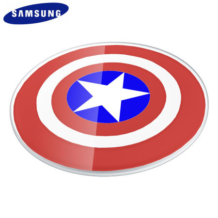 Samsung Wireless Charger Captain America