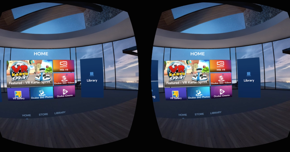 Samsung Gear VR screenshot