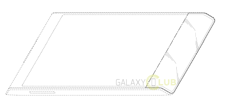Samsung Galaxy Bottom Edge patent