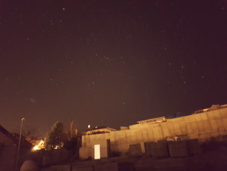 Galaxy S7 Night Sky Photo