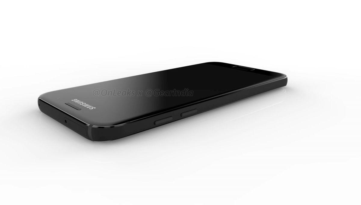 Samsung Galaxy A3 2017 render 5