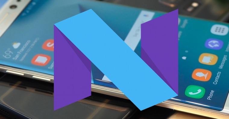 Samsung Android Nougat 7.0 FB