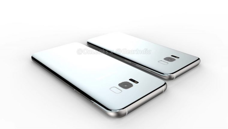 Galaxy S8 Plus render 4