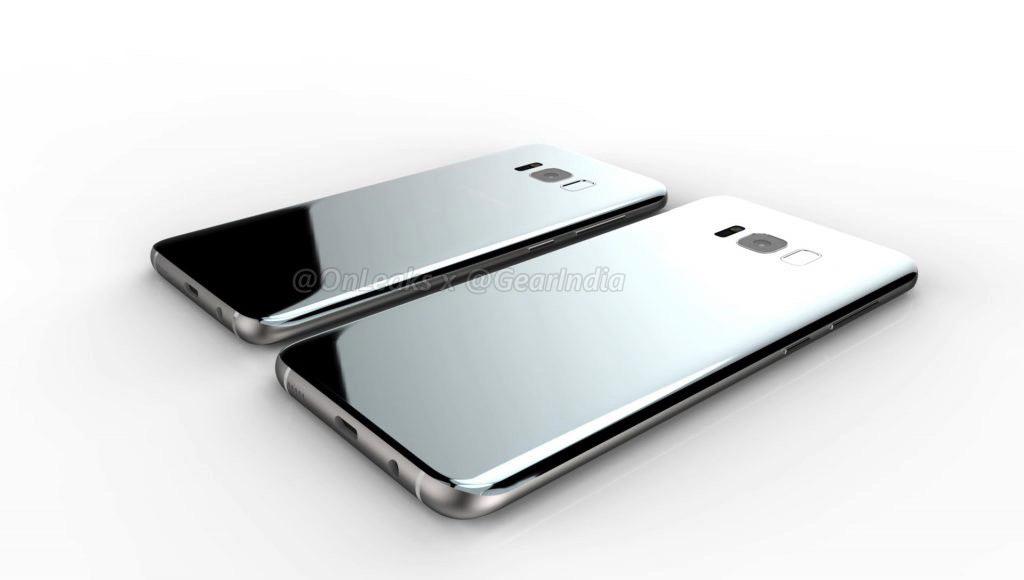 Galaxy S8 render 6