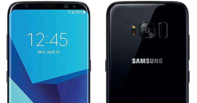Galaxy S8 render FB