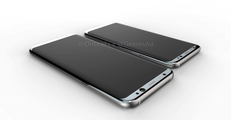 Galaxy S8 render FB