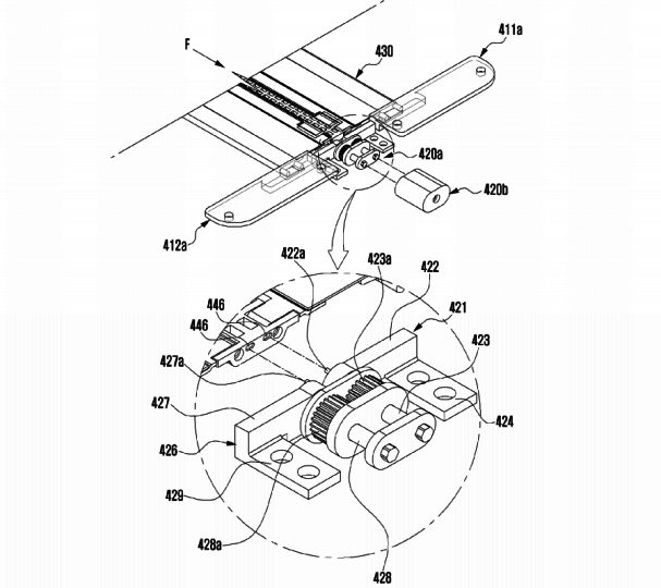 Samsung-Patent-Application-For-Device-With-Flexible-Display-And-Hinge-08-607x540