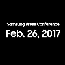 Samsung konference MWC 2017 icon