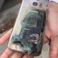 Galaxy S7 fire icon