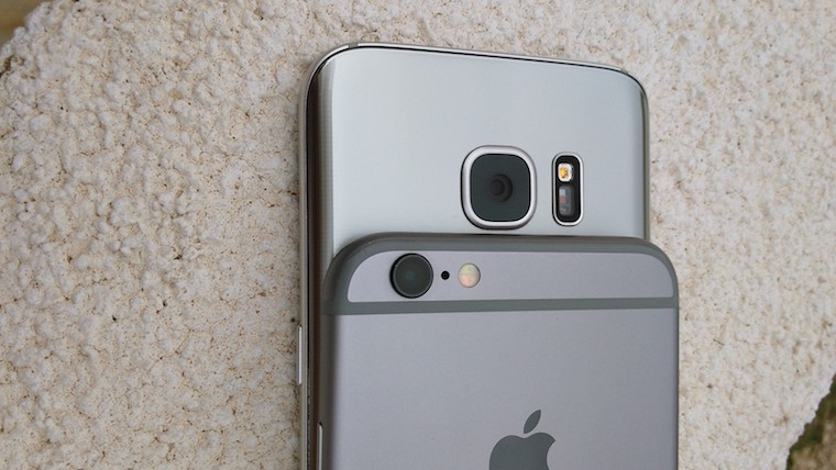 Galaxy S7 vs iPhone 6s 3