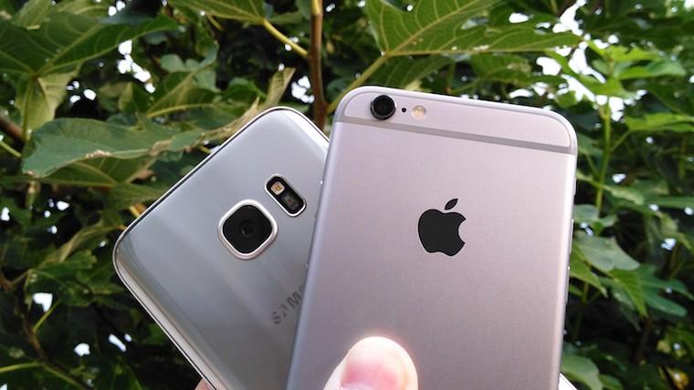 Galaxy S7 vs iPhone 6s 4