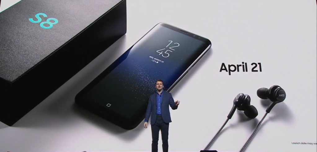 Galaxy S8 AKG headset