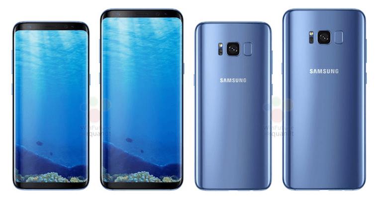 Galaxy S8 Blue FB