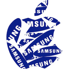 Samsung-Apple icon