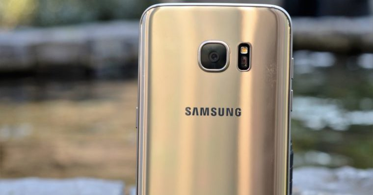 Samsung Galaxy S7 Gold FB