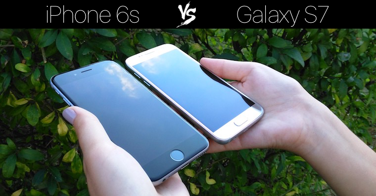 iPhone 6s vs Galaxy S7 FB