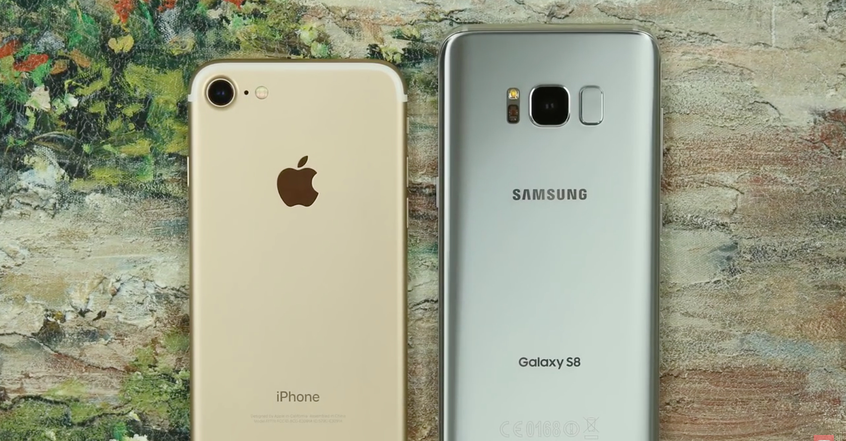 Apple iPhone 7 Samsung Galaxy S8 FB
