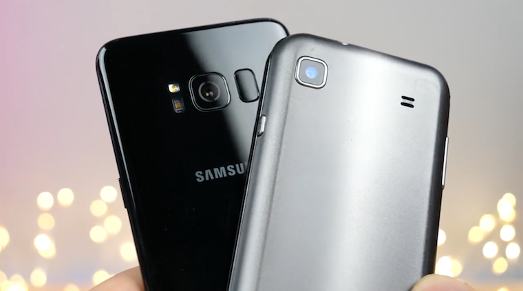 Galaxy S vs Galaxy S8 1