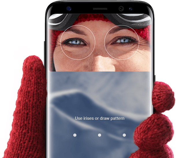 Galaxy S8 Iris scanner 1