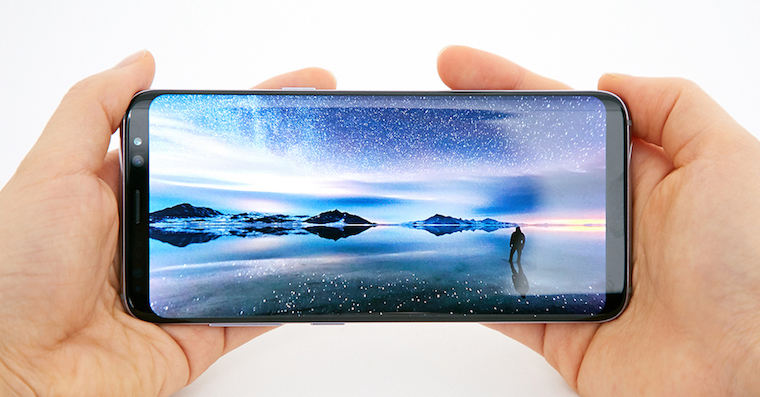 Galaxy S8 display FB
