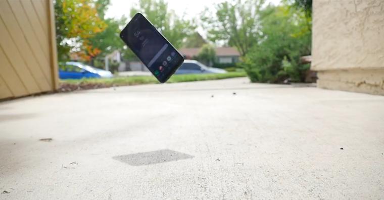 Galaxy S8 drop