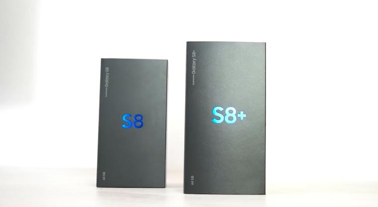 Galaxy S8 vs Galaxy S8+ 1