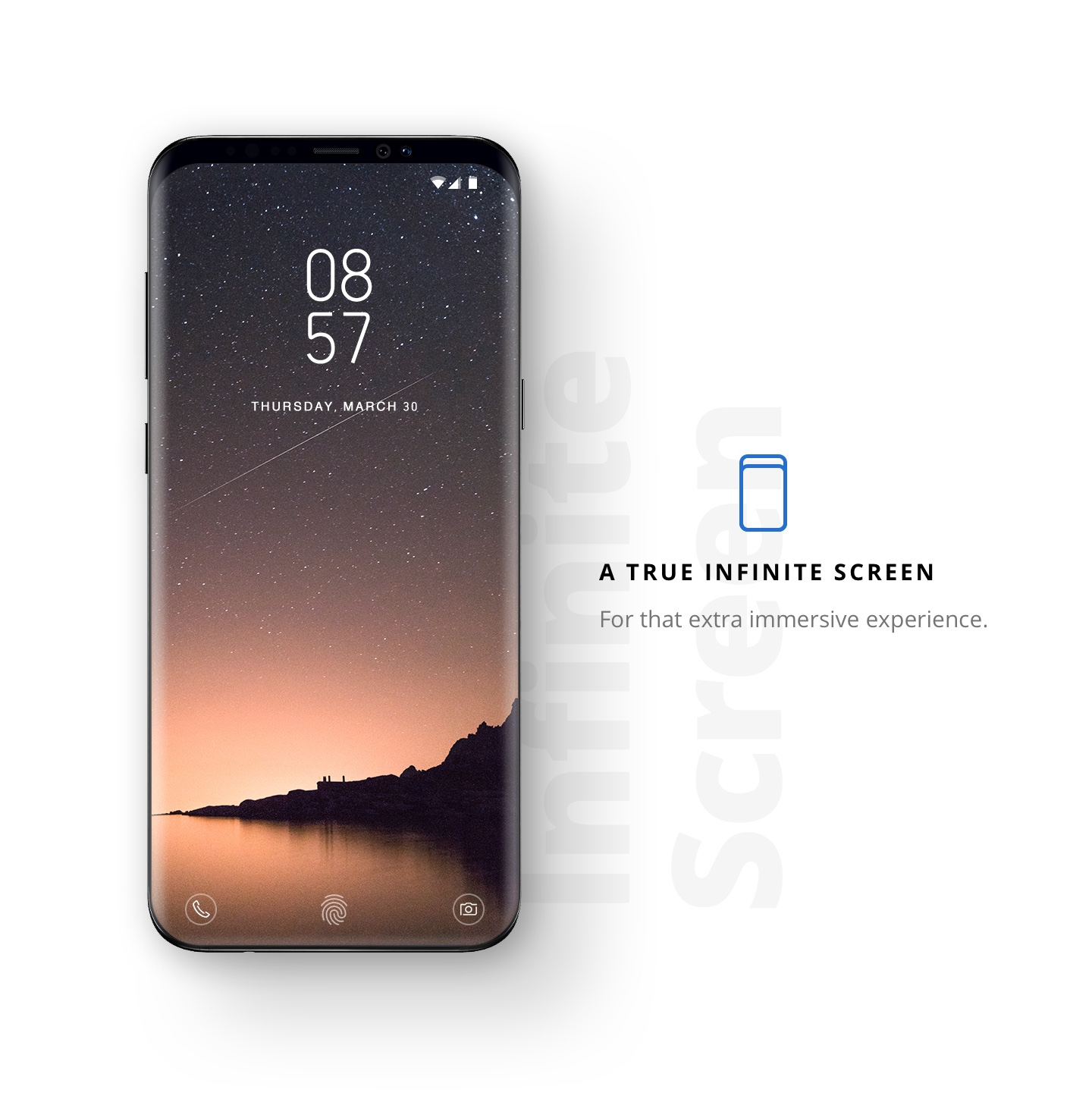 Galaxy S9 Infinity screen 3