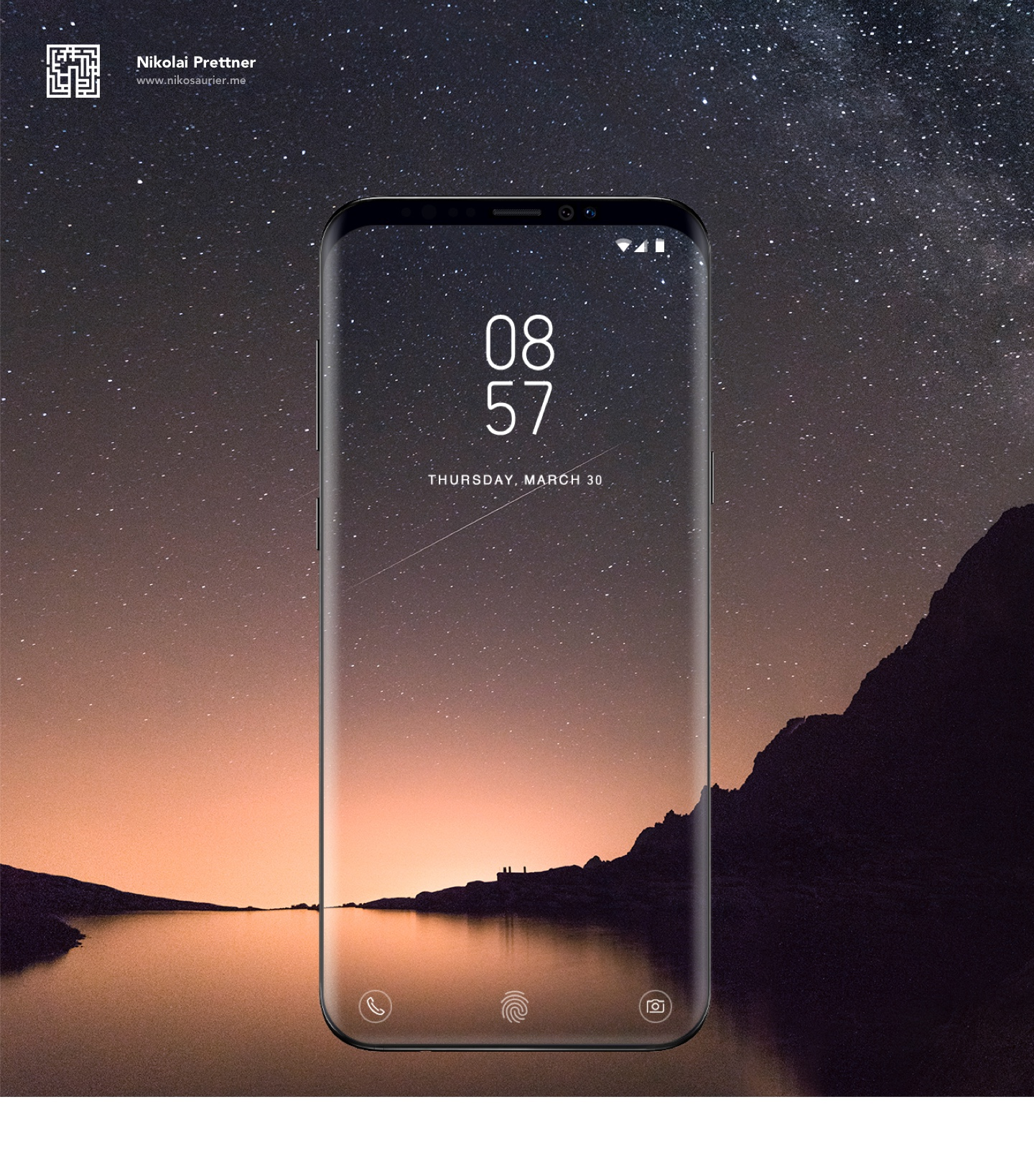Galaxy S9 Infinity screen 4