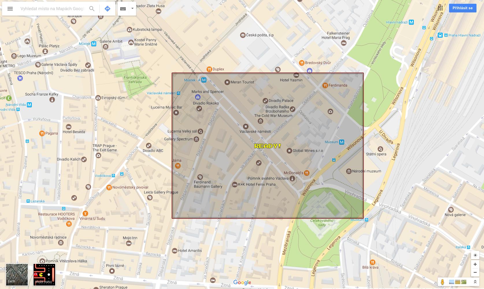 Google Maps Pac-Man 5