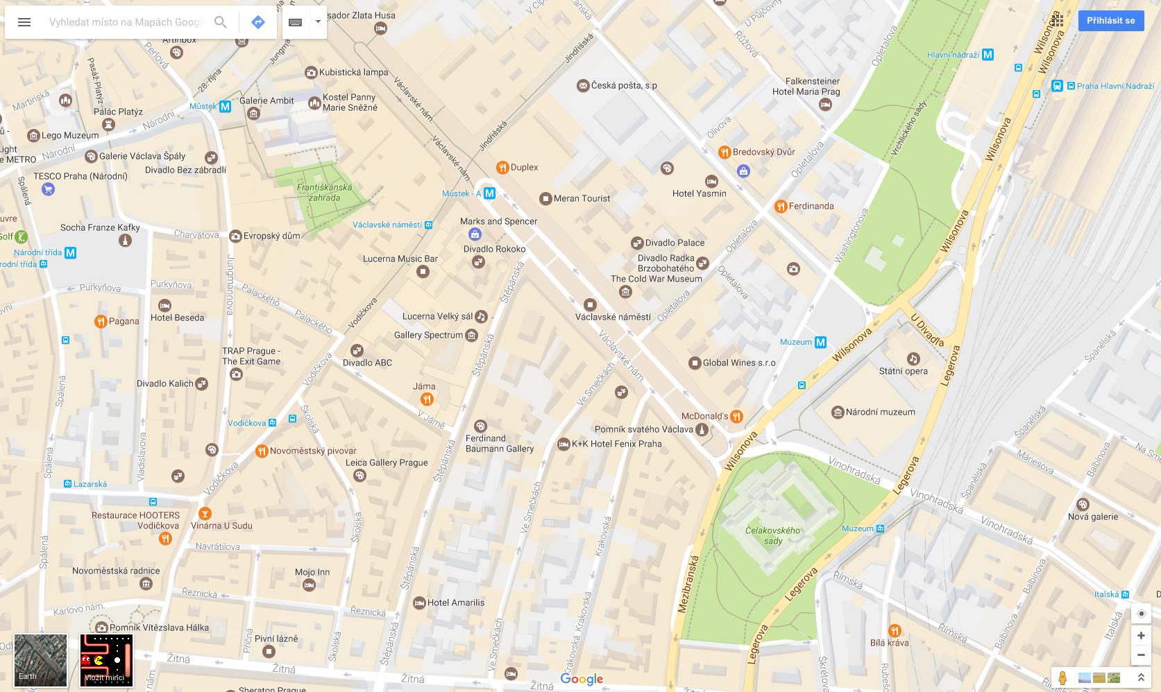 Google Maps Pac-Man 6