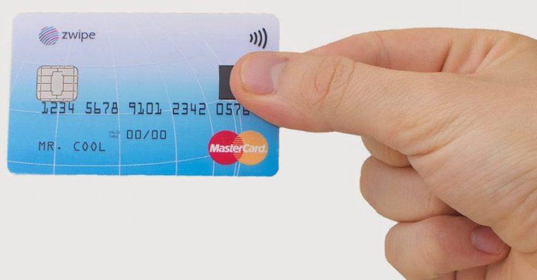 MasterCard fingerprint card 3