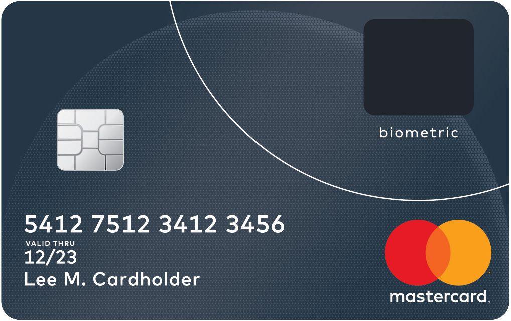 MasterCard fingerprint card 4
