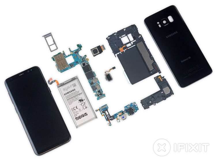Samsung Galaxy S8 teardown 2