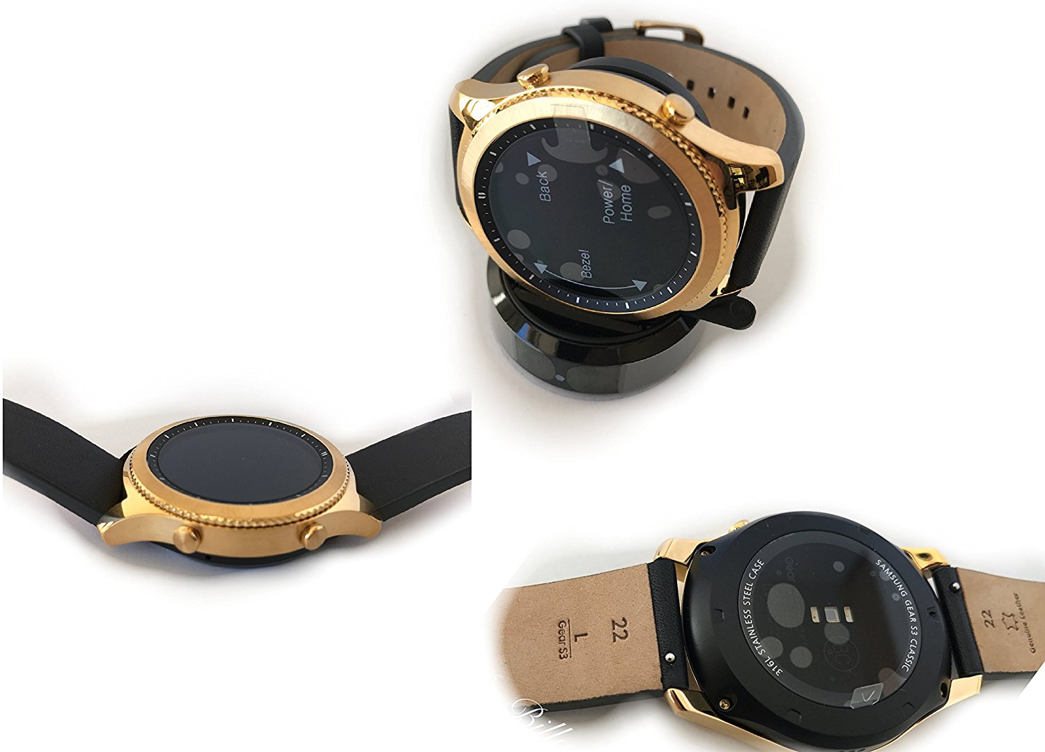 Samsung Gear S3 gold plated 3