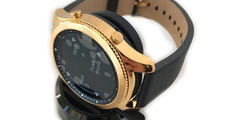 Samsung Gear S3 gold plated FB