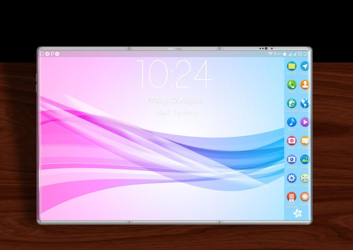 Samsung foldalbe smartphone 2