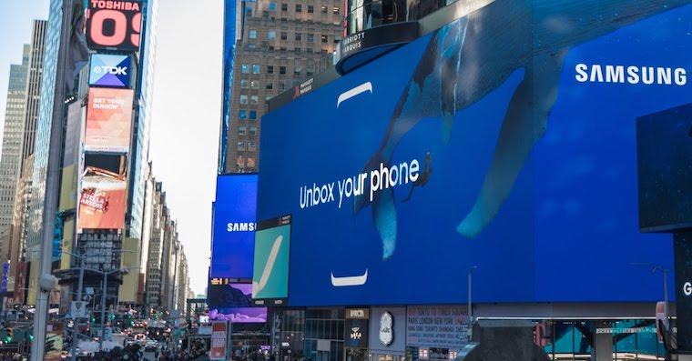 Timw Square Samsung