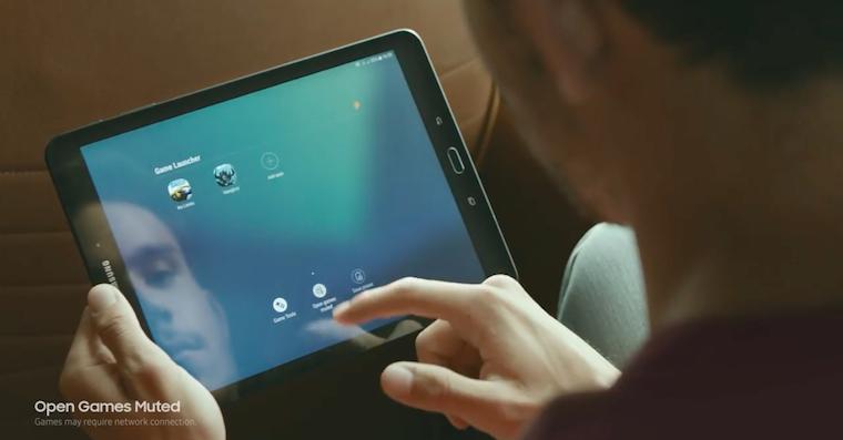 Galaxy Tab S3 ad